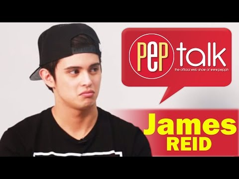 PEP TALK. James Reid Has Something To Say About Haters And It Involves A Peach
