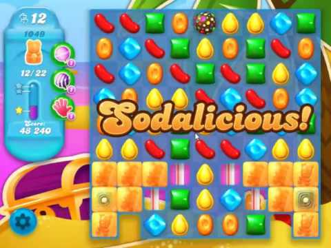 Candy Crush Soda Saga Level 1049 - NO BOOSTERS (видео)