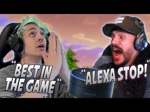 Ninja Makes The Most Insane Play With The Crossbow! Alexa Almost Leaks CDN's Personal Info!