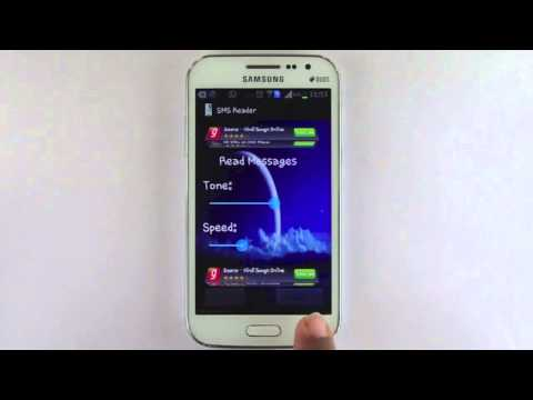 Video of SMS  Reader