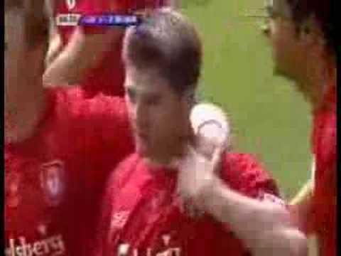 Liverpool 3(3) -3(1) West Ham (Final de la Copa FA 2006)