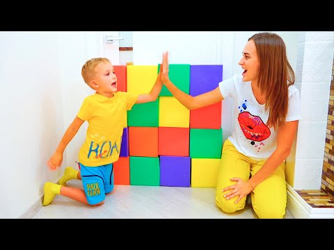 Vlad and Nikita Play with toys | Hide and seek with Mom Compilation video for kids