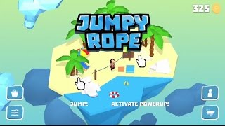 madewithunity Jump Rope Endless Arcade Jumper Game Trailer #madewithunity Online Games Trailer 1Jumpy Rope is an endless arcade jumper game for your finger's delight! Gorgeous low poly aesthetic style and easy and simple touch and swipe controls! Don't be fast to judge though!! It's not easy!! It will get on your nerves!! You will fall, fall, and fall again!! But we have powerups to help you play better! Each floating island environment has a different speed up and speed down pattern for the rope! They also have different speeds that makes them uniquely challenging! Can you reach the last world? Save your gold coins to unlock them all!- If you time your jumps perfectly, you'll be rewarded with precious golden coins!- Use those coins to unlock new hair styles and new clothes to customize your girl or boy character!- Go to the shop and buy Powerups that will help you jump more times! Did I mentioned alien abductions? Yup! We got you covered!- Connect with Facebook and Invite your friends! You have a special leaderboard with your friends, so you know when you passed them!