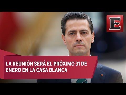 Peña Nieto dará a conocer los temas que negociará con Trump