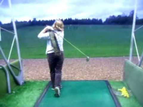 the most difficult shot in golf, after just 12 lessons, driver off the deck!