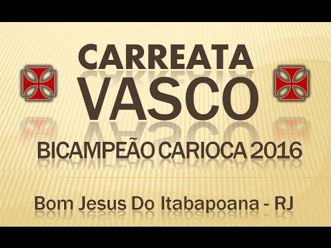 Carreata Vascão BICampeão Carioca 2012 (Bom Jesus Do Itabapoana - RJ)