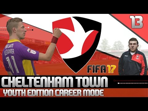 FIFA 17 Youth Edition Career Mode - Cheltenham Town - Ep13 (видео)