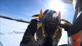 5. Ski doo mxz 600 HO sdi rev insane wheelies/catwalks