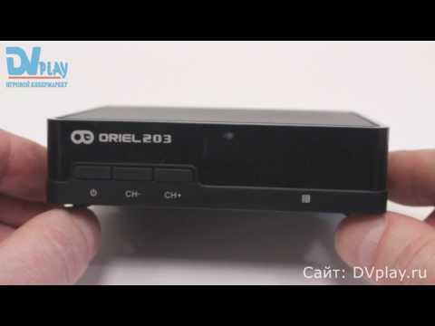 Oriel 203 - обзор DVB-T2 ресивера