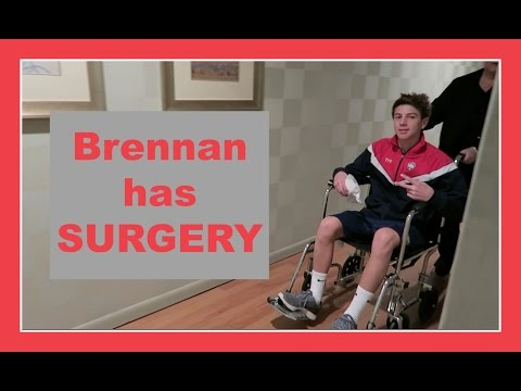BRENNAN HAS SURGERY | Flippin