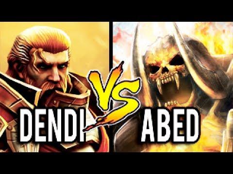 NaVi Dendi [Omniknight] Carry vs Abed [Clinkz] 10k MMR Most Epic Gameplay Dota 2