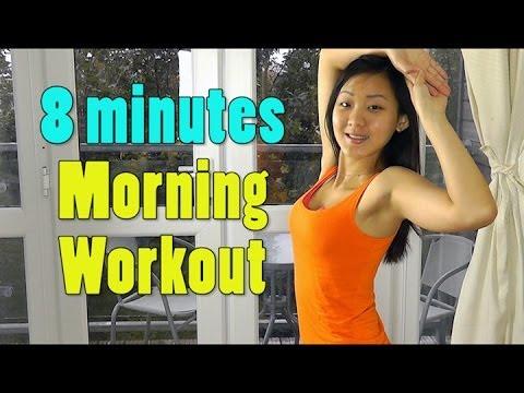 8 Minutes Morning Workout – Lose 2lbs Per Week