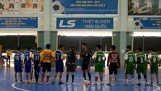 GIẢI FUTSAL HỌC SINH THCS TP.HCM 2013 - 2014.
