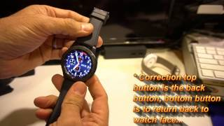 Samsung releases the Gear S3 Frontier with 4G LTE and a Bluetooth version. Pricing seems to be the same, though you could get $100 off if you purchases from a supported carrier. The Gear S3 Frontier is a great looking smartwatch, one of the best Samsung has made to date! The stainless steel case gives the Gear S3 Frontier that extra look and feel of a regular watch, but underneath its a great smartwatch.