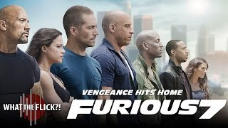 Furious 7 (Starring Paul Walker&Vin Diesel) Movie Review
