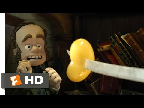 The Pirates! Band of Misfits (2/10) Movie CLIP - Attacking Charles Darwin (2012) HD