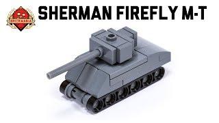 Sherman Firefly Micro-tank - Custom Military Lego