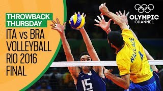 Nonton Italy vs Brazil – Volleyball Gold Medal Match at Rio 2016 | Throwback Thursday Film Subtitle Indonesia Streaming Movie Download