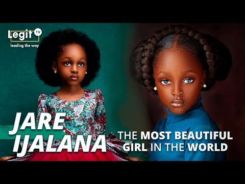 Jare Ijalana: The most beautiful girl in the world is from Nigeria | Interview | Legit TV