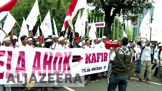 Jakarta Indonesia  City new picture : Indonesia: Thousands rally against blasphemy in Jakarta