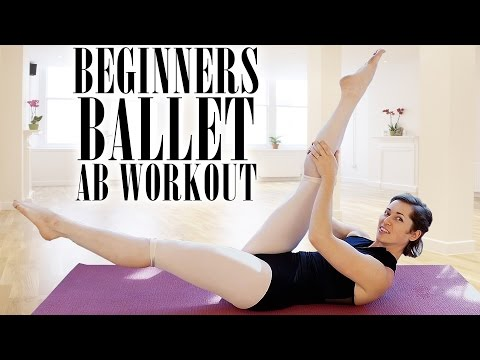 Beginners Ballet 3 – Total Ab Exercises for Flat Stomach, Tummy Tuck & Muffin Tops