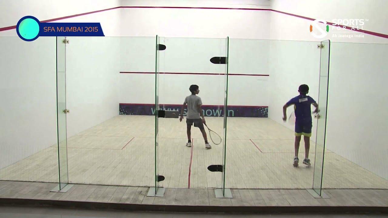 SFA Mumbai 2015 | Squash | Mihit Mahale Vs Rishit Shailesh Gadre | Boys | U13 | R1