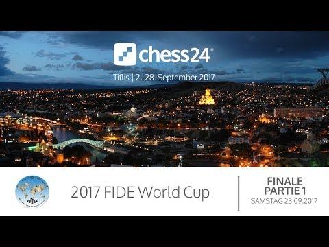 Finale - 1. Partie - FIDE World Cup 2017 - Live-Kommentierung (видео)