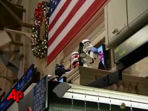 Darth Vader Opens Wall Street
