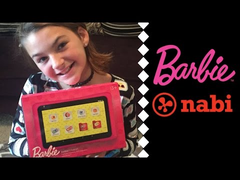 Barbie Nabi | Kid's Tablet