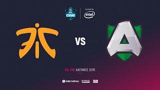 Fnatic vs Alliance, ESL One Katowice 2019, bo2, game 1 [Eiritel]