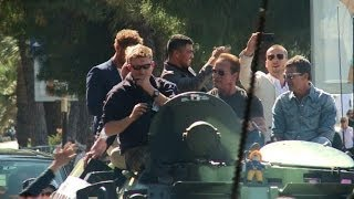 'Expendables 3' Cast Rolls In On Tanks In Cannes