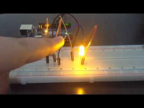Arduino uno ldr ile basit gece lambası devresi
