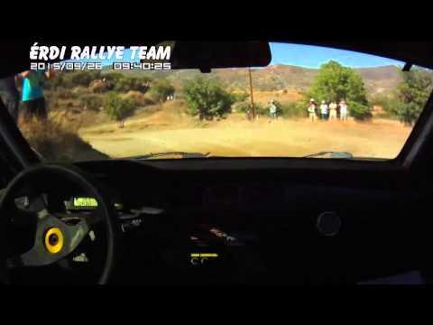 Ifj. Érdi & Patkó - Cyprus Rally 2015 SS3 részlet