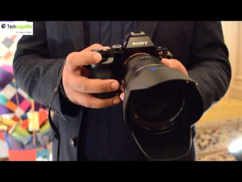 Sony Alpha 7R Hands on Demo