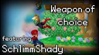 Crazy Mario Combo Video (starring SchlimmShady)