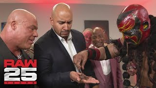 Nonton Bizarre WWE Legends visit Raw GM Kurt Angle: Raw 25, Jan. 22, 2018 Film Subtitle Indonesia Streaming Movie Download