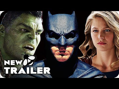 Comic Con 2017 ALL SUPERHERO TRAILERS - SDCC 2017 | Movies & Series