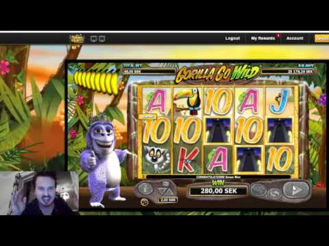 Gorilla go wild - Double bonus retrigger on high bets