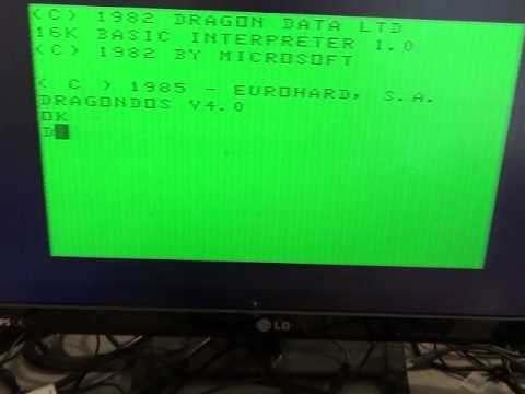 4 os rom for dragon 32/64 floppy interface,