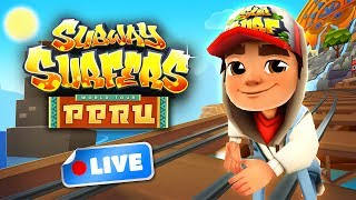 Join the Subway Surfers World Tour! Download for free on Android, iOS, Windows 10 and Kindle Fire right here: http://bit.ly/SubSurfFBSubway Surfers World Tour - Peru:★ Join the Subway Surfers World Tour in South America★ Explore the beautiful mountains and colorful markets of Peru★ Unlock the playful new Poncho Outfit for Carlos★ Take the iconic Tumi board for a ride through the Subway★ Pick up shiny Inca statues in the Weekly Hunts to earn great prizesDownload for FREE on:Android:http://bit.ly/SubSurf_GooglePlayiOS:http://bit.ly/SubSurf_AppStoreWindows 10:http://bit.ly/SubSurf_WPstoreKindle Fire:http://bit.ly/SubSurf_Amazon