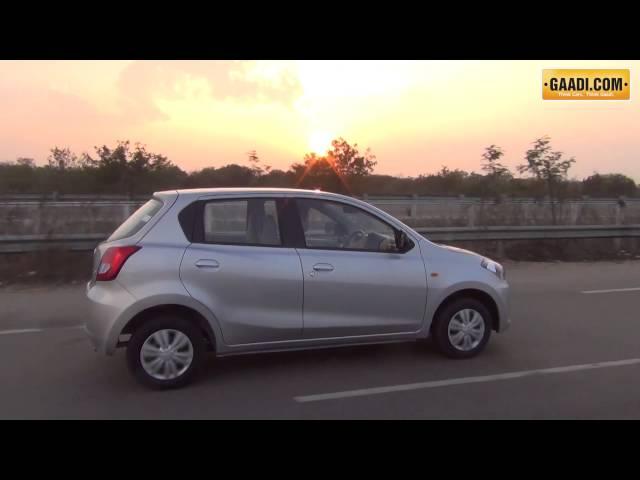 Datsun Go Drive Video
