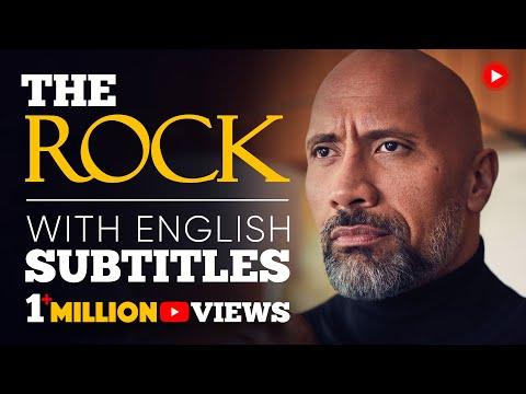 ENGLISH SPEECH | THE ROCK: Be Yourself (English Subtitles)