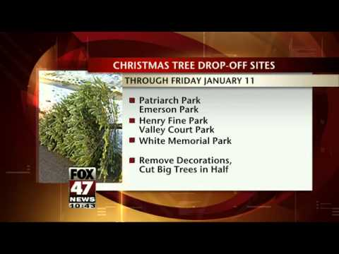 City Offers Holiday Trash Pick-Up & Christmas Tree Recycling