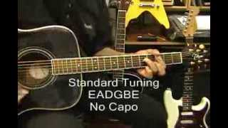 HAPPY Pharrell Williams  Guitar Lesson How To Play No Capo On Guitar