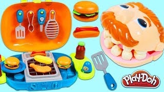 Video Feeding Play Doh Drill N Fill BBQ Barbecue Playset and Toy Velcro Cutting Fruit & Toy Microwave! MP3, 3GP, MP4, WEBM, AVI, FLV Agustus 2017
