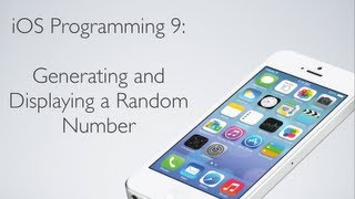 IOS Programming 9: Random Number Generator