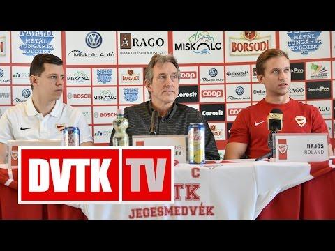 """""""Nem kell külön motiváció""""   2016. december 28.   DVTK TV"""