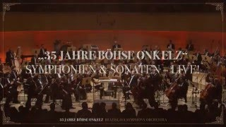 35 Years - Böhse Onkelz concert with the BSO in Essen (Germany) - 6 May 2016