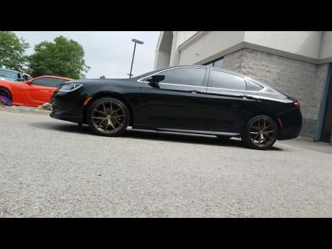 CHRYSLER 200 WITH FC04 LIGHT WEIGHT WHEELS 19 INCH CJR PERFORMANCE
