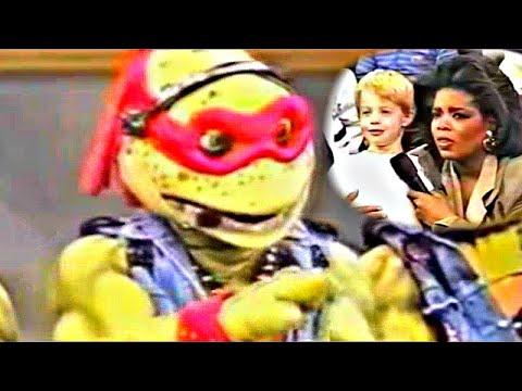 Ninja Turtles OWN Kid on Oprah